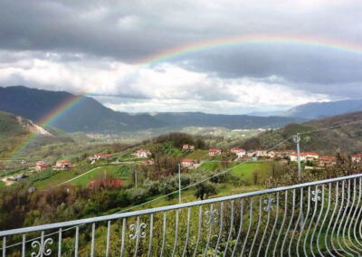 Rainbow over Immoglie
