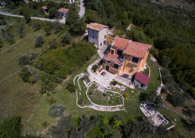 Aerial views of Casa Bella Vista